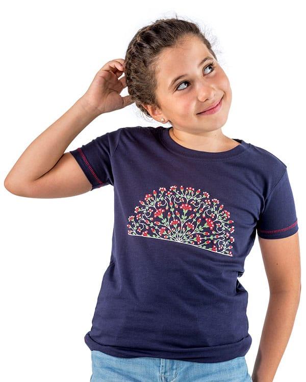 benegassi camiseta nina flamenco abanico fl4azn 1