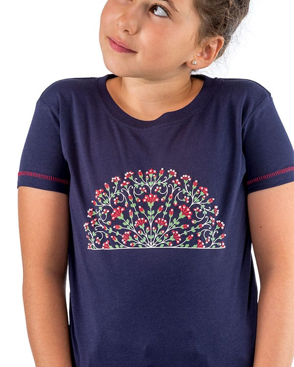 benegassi camiseta nina flamenco abanico fl4azn 2