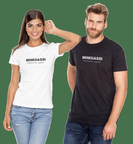 benegassi inicio pareja camisetas genericas 1
