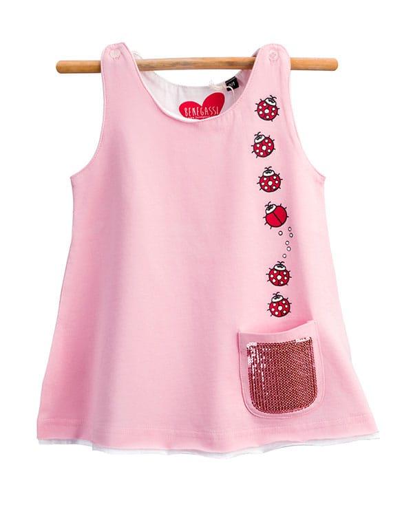 benegassi vestido bebe mariquitas N3RSTG 1