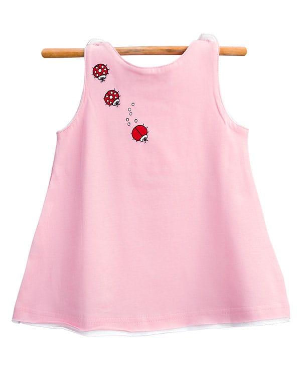 benegassi vestido bebe mariquitas N3RSTG 2