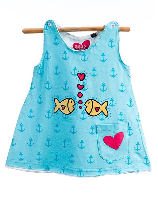 benegassi vestido bebe peces corazon N10TUTG 1