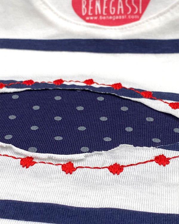 benegassi vestido bebe rayas pez lunares N9BLRATG 2